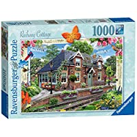 Ravensburger-13989-Country-Collection-Nr-13-Railway-Cottage-1000-Teile-Puzzle