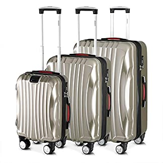 Monzana-Ikarus-3er-Set-Koffer-Farbwahl-M-L-XL-USB-Port-TSA-Schloss-Reisekoffer-Trolley-Kofferset-Rollkoffer