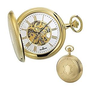 Dugena-Herren-Armbanduhr-Mechanische-Taschenuhr-Analog-Handaufzug-4460307