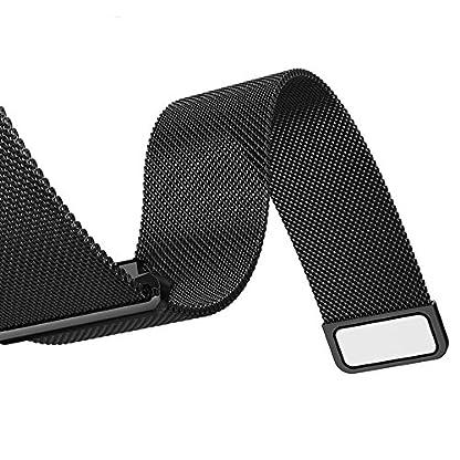 TRUMiRR-22mm-Milanese-Loop-Uhrenarmband-Magnetic-Lock-Bgel-fr-Samsung-Gear-S3-Classic-Frontier-Gear-2-R380-Neo-R381-Live-R382-Moto-360-2-46mm-Kiesel-Time-Stahl-Asus-ZenWatch-1-2-Mnner-LG-G-Watch-Urban