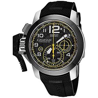 Graham-Herren-Armbanduhr-47mm-Armband-Kautschuk-Automatik-2CCACB16AK92B