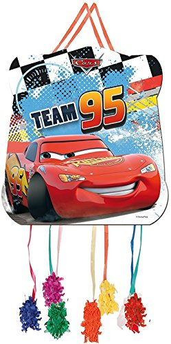 Pinata-Set-Cars-mit-Pinata-100-teiliges-Sigkeiten-Fllung-No1-von-Carpeta-Spanische-Zugpinata-fr-bis-zu-7-Kinder-Tolles-Spiel-fr-Kindergeburtstag