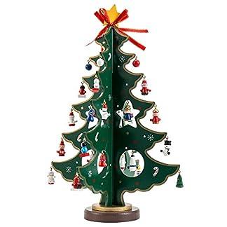 tropicalboy-Mini-Weihnachtsbaum-Holz-Tisch-Deko-Weihnachten-Baum-Dekoration-Weihnachtsdeko-Weihnachtsbaumschmuck-DIY-Geschenk