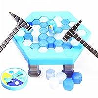 ZZM-Kinder-Spiele-Pinguin-Trap-Tischspiel-Balance-Eiswrfel-Speichern-der-Pinguin-Eis-brechen-Interaktive-Party-Spiel-Familie-Strategie-Spiele-fr-ab-3-Jahre-alt