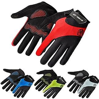 HCFKJ-RAD-UP-Full-Bike-Finger-Bildschirm-Radfahren-Fahrrad-Handschuhe-Anti-Rutsch-Atmungsaktiv