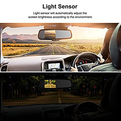 BOSCAM-K2-Rckfahrkamera-Set-Rckfahrkamera-Drahtlos-mit-144-cm43-Zoll-LCD-Farbdisplay-im-Rckspiegel-IP68-Wasserdichte-Rckfahrkamera-mit-Nachtsicht-fr-Auto-Bus-LKW-Schulbus-Anhnger