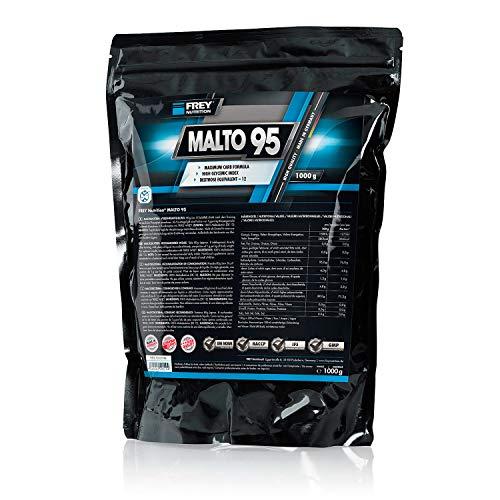 FREY Nutrition MALTO 95, Maltodextrin Pulver für den Muskelaufbau (1 Beutel (1000 g))