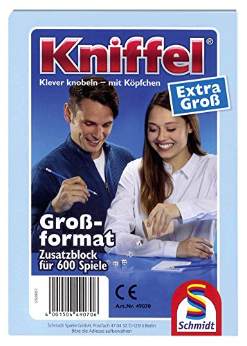Schmidt-Spiele-49070-Kniffelblock-extra-gro