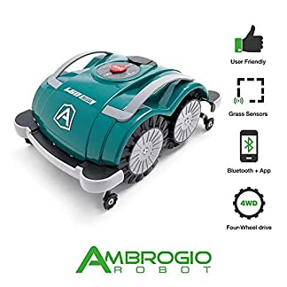 Zucchetti-Ambrogio-L60-Deluxe-Rasenmher-Rasenmher-Rasenmher-Rasenmher-Rasenmher-Rasenroboter-Wasserdicht-Rasenroboter-200-qm-Gartenroboter-mit-Bluetooth
