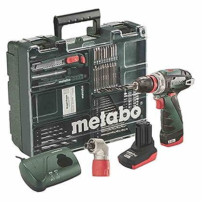Metabo-600157880-Quick-PowerMaxx-BS-Q-Pro-108V-Akku-Bohrschrauber-2040Ah-Mobile-Werkstatt-108-V-Schwarz-Grn