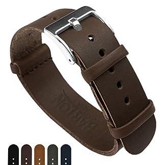 Barton-Leder-NATO-Style-Uhrenarmband-whlen-Sie-Farbe-Lnge-Breite-18-mm-20-mm-22-mm-Bands