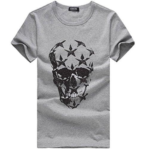 T-Shirt-Herren-HUIHUI-Coole-V-Ausschnitt-Kurzarm-Sweatshirt-Slim-Fit-Basic-UV-Polo-Shirt-Mode-Sport-Oberteile-Oversize-Bench-Tops-3D-Katze-Drucken-Sommer-Freizeit-Hemd-Poloshirt