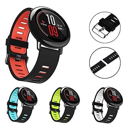Ersatzband-fr-Xiaomi-HUAMI-Kingwo-22mm-Ersatz-Silikon-Sportband-Band-fr-Xiaomi-HUAMI-AMAZFIT-Smart-Watch