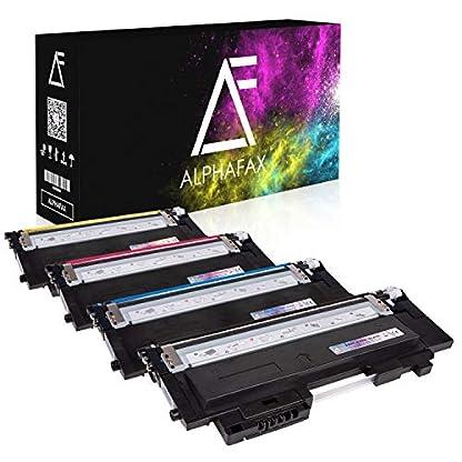 4-Toner-kompatibel-fr-Samsung-Xpress-C430WTEG-C480WTEG-Farblaserdrucker-CLT-P404CELS-Schwarz-1500-Seiten-Color-je-1000-Seiten