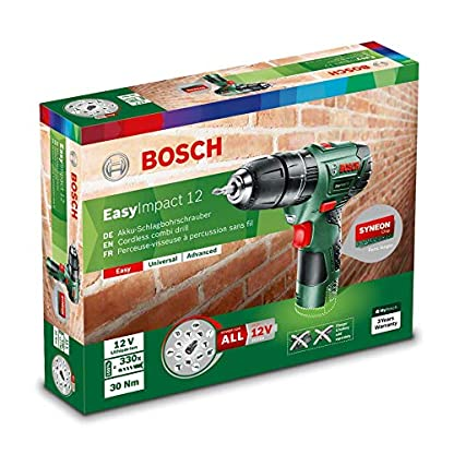 Bosch-Akku-Schlagbohrschrauber-EasyImpact-12-ohne-Akku-12-Volt-Sytem-im-Karton