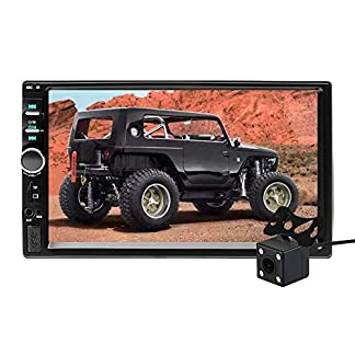 Aigoss-Autoradio-mit-Bluetooth-Freisprecheinrichtung2-Din-7-Touchscreen-Freisprech-Radio-MP5-Player-mit-Rckfahrkamera-BluetoothFMUSBAUXTFMirrorlink