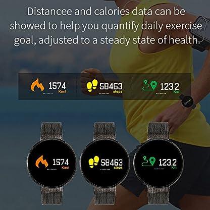 Chenang-EX32-Intelligente-Uhr-Information-Erinnerung-Smartwatch-Wasserdicht-IP67-mit-Pulsmesser-Schlafmonitor-Fitnessarmband-Schrittzhler-Wasserdicht-Smart-Watch
