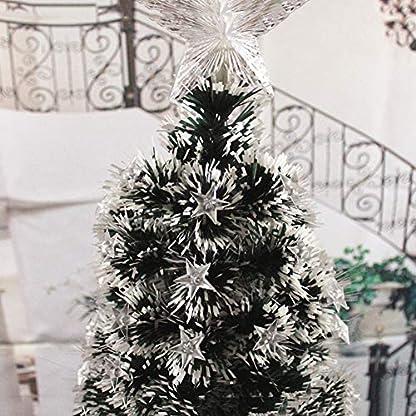 DWHX-Fiber-Optic-Knstlicher-Weihnachtsbaum-Farbe-ndern-Scharnier-Ganz-einfach-aufbauen-Stnder-aus-Metall-Weihnachtsbaum-Blitz-modi-Xmas-Tree-Mit-LED-Leuchten-E-24m79-ft