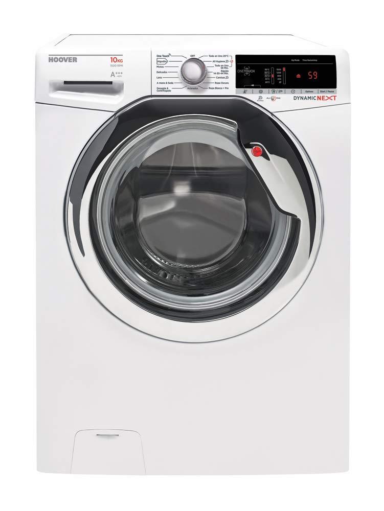 Hoover-dxoa-510-AC31–37-autonome-Belastung-vor-10-kg-1500trmin-A-Wei-Waschmaschine–Waschmaschinen-autonome-bevor-Belastung-wei-links-Edelstahl-62-l