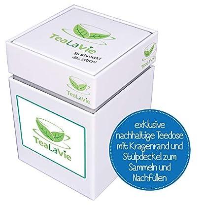 Loser-Rooibos-Tee-von-TeaLaVie-Zweihorn-Granatapfel-mit-Himbeere-Rotbusch-Tee-lose-in-edler-Teedose-fr-Teeliebhaber-ideal-als-Geschenk-und-Dankeschn-130g-Dose