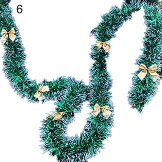 Gfjhgkyu-Bowknot-Ball-Design-hngenden-Garland-Weihnachtsdekor-Weihnachtsgrner-Plastikbowknots-Ball-Girlanden-Baum-verziert-Weihnachtsfest-Dekor
