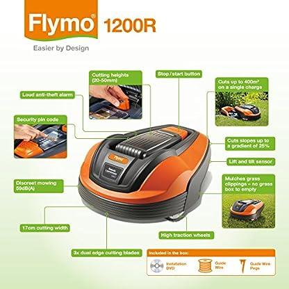 Flymo-Rasenmher-roboteruntersttzten-Anlage-Stromversorgung-lithium-Ionen-Akku-mit-400-m-