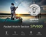 Spovan-Herren-Sport-Taschenuhr-Angeln-erinnern-EL-Hintergrundbeleuchtung-Alarm-Stoppuhr-Hhenmesser-Barometer-Kompass-Outdoor-Uhren