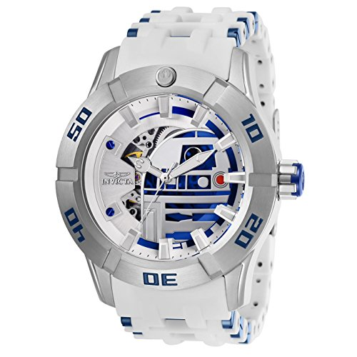 Invicta-Star-Wars-Herren-Armbanduhr-50mm-Armband-Kunststoff-Automatik-26553