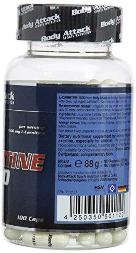 Body Attack L-Carnitine 2000 – 100 Caps
