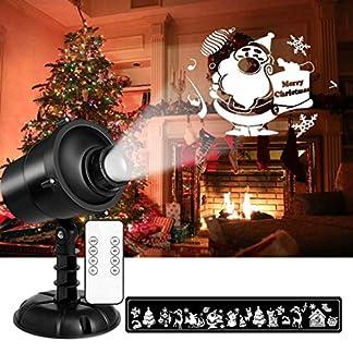 LED-ProjektorZenoplige-LED-Projektionslampe-3D-Rotierende-Wasserdicht-Weihnachts-Projektor-Lichter-mit-Fernbedienung-Projektor-fr-Weihnachten-Innen-Auen-Garten