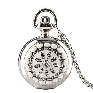 Trendige-Taschenuhr-Silber-Kristall-Blume-Quarz-Taschenuhr-fr-Herren-Damen-Halskette-Taschenuhr-Geschenk-Weihnachten-Geschenk