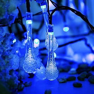 Wasser-Tropfen-Lichterkette-EONANT-Wasser-Tropfen-feenhafte-Lichter-20ft-30LEDs-Solarwasser-Tropfen-Wasserdicht-fr-im-Freien-Garten-Weihnachtsdekorationen