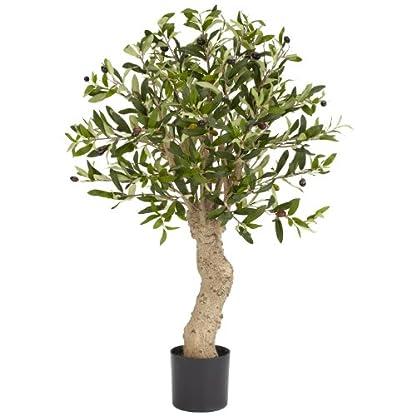 Nearly-Natural-Fast-Natur-5331-Olive-Silk-Baum-25-feet-grn