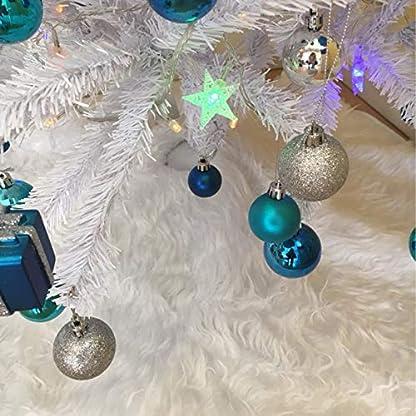 Milopon-Christbaumstnder-Weihnachtsbaum-Decke-Weihnachtsbaumdecke-Baumdecke-Weihnachts-Plsch-Dekorationen-Weihnachtsbaum-Abdeckung-Runde-Christbaumdecke-fr-Weihnachtenbaum