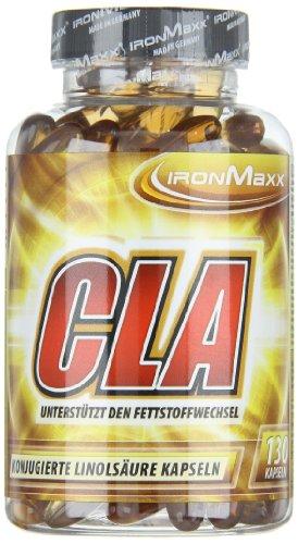 IronMaxx CLA / Linolsäure in Kapseln / 1 x 130 Kapseln (179,8g)