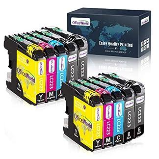 OfficeWorld-LC-223-Ersatz-fr-Brother-LC223-Druckerpatrone-Kompatibel-mit-Brother-DCP-J4120DW-MFC-J5320DW-DCP-J562DW-MFC-J880DW-MFC-J5620DW-MFC-J680DW-MFC-J4625DW-MFC-J5720DW-J4625DW-10er-Pack