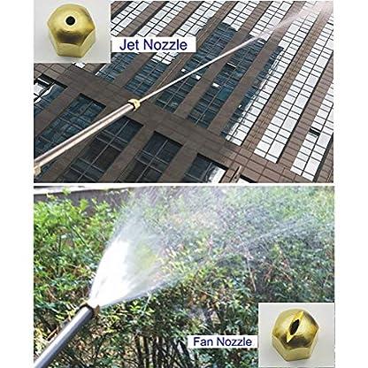 YANSHON-Hochdruck-Wasserdse-Reinigungsdse-Sprhdse-Auto-Hochdruckreiniger-Wasserdruck25kg-Spritzabstand-15m-fr-GartenAutowsche