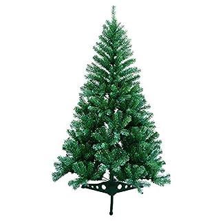 VINGO-Knstlicher-Weihnachtsbaum-Tannenbaum-Weihnachtsdeko-schwer-entflammbar-Plastikstnder-fr-den-Weihnachtsdekoration