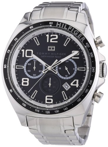 Tommy-Hilfiger-Herren-Armbanduhr-City-Classic-XL-Analog-Quarz-Edelstahl-1790939