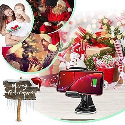 CHOETECH-75W10W-Fast-Wireless-Charger-Auto-QI-KFZ-drahtloses-Ladegert-Handyhalterung-Schnelles-Aufladen-zu-Apple-iPhone-XSXS-MaxXRX8Galaxy-S10Note-9S9Note-8S8S7HUAWEI-Mate-20pro-usw