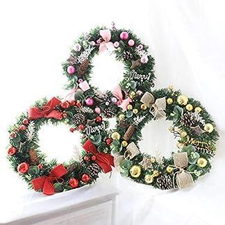 Weihnachtskranz-Trkranz-Weihnachten-Weihnachtsdeko-Kranz-Weihnachtsgirlande-mit-Kugeln-Handarbeit-Weihnachten-Garland-Deko-Kranz