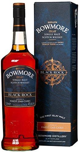 Bowmore-Black-Rock-Whisky-mit-Geschenkverpackung-1-x-1-l