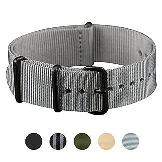 Infantry-22mm-20mm-Nato-Dornschliee-Army-Militr-Uhrenarmband-Uhrband-Armband-Band-Nylon