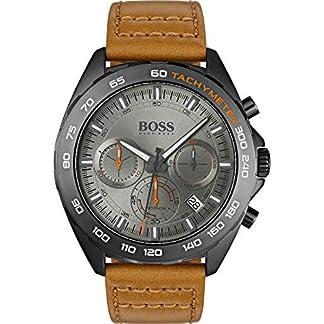 Boss-Herren-Uhren-Analog-Quarz-Leder-32000832