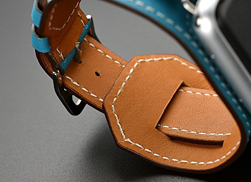 Apple-Watch-Band-SANDAY-echtes-Leder-Handgelenk-Band-mit-38-mm-42-mm-fr-Apple-Watch-iWatch-bildungsinstitut-Sport