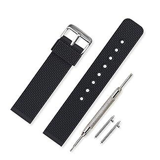 Vinband-Uhrenarmband-Hohe-Qualitt-Wasserfest-Ersatzarmband-Gummi-Armbanduhr-Herren-Damen-Schwarz-18mm-20mm-22mm-24mm-Kautschuk-Uhrenband-mit-Schnellwechselstifte
