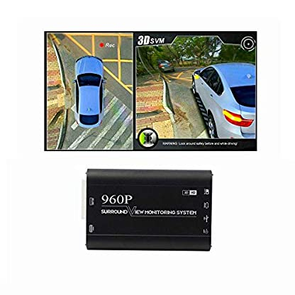 Panorama-Rckfahrkamera-360-Grad-Nahtloser-Surround-View-Digitaler-Video-Rekorder-Park-System-Auto-Kamera-Alle-Rund-Nacht-Vision-Wasserdichte-Rckfahrkamera
