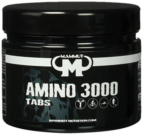 Mammut Amino 3000 Tabs – 300 Stück Dose, 1er Pack (1 x 288 g)