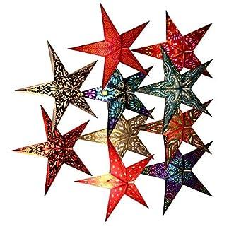 Weihnachtsstern-Leuchtstern-Advent-Weihnachten-Stern-Papierstern-Dekostern