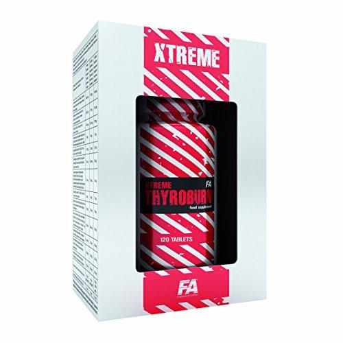FA Nutrition Xtreme Thyroburn – 120 Tabletten plus Fat Caliper Gratis – Fatburner – Fettverbrennung – Abnehmen
